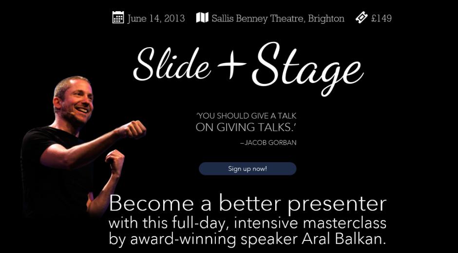 slide&stage